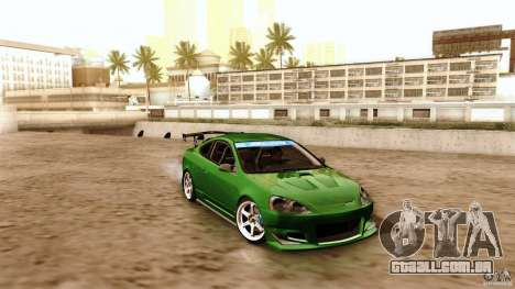 Acura RSX Spoon Sports para GTA San Andreas vista superior