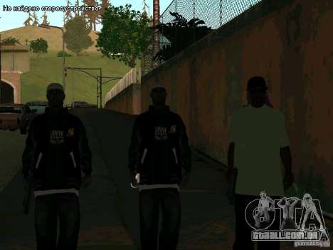 Novo Ballas East side Purpz para GTA San Andreas