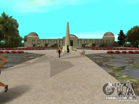 Stone Mountain para GTA San Andreas terceira tela