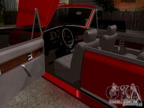 ZIL 41044 Phaeton para GTA San Andreas vista traseira