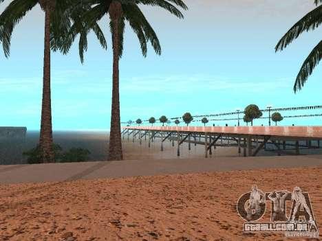 Praia de HQ v 1.0 para GTA San Andreas terceira tela
