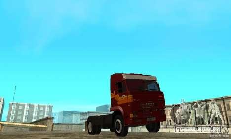 KAMAZ 5460 pele 2 para GTA San Andreas