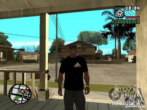 Rammstein t-shirt v3 para GTA San Andreas segunda tela