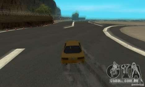 Drift City para GTA San Andreas quinto tela