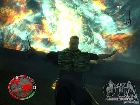 O novo explosivo para GTA San Andreas terceira tela