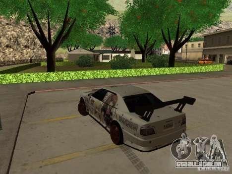 Toyota Chaser JZX100 Tuning by TCW para GTA San Andreas esquerda vista
