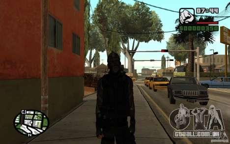 Blackwatch do protótipo para GTA San Andreas segunda tela