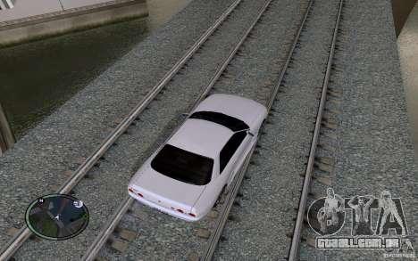 Rails russos para GTA San Andreas nono tela