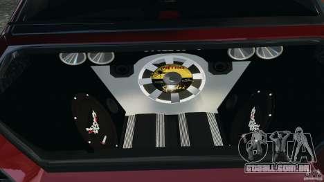Mitsubishi Lancer Evolution 8 para GTA 4 vista de volta