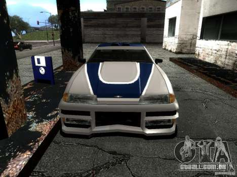 Vinil com o BMW M3 GTR em Most Wanted para GTA San Andreas vista direita