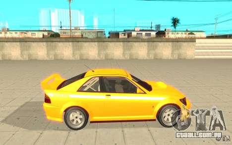 Sultan RS de GTA 4 para GTA San Andreas esquerda vista