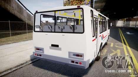 SULCO 4234 para GTA 4 traseira esquerda vista