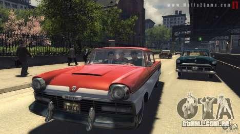 Imagens de inicialização no estilo de uma Mafia  para GTA San Andreas por diante tela