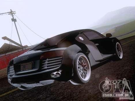 Audi R8 Hamann para as rodas de GTA San Andreas