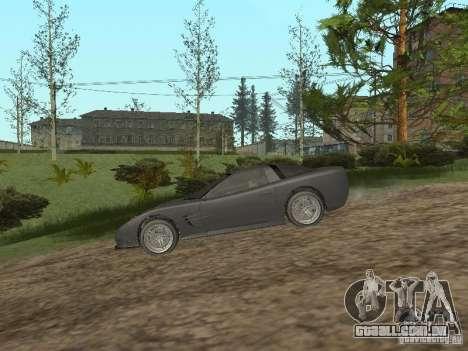 Chita de GTA 4 para GTA San Andreas traseira esquerda vista