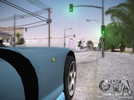 TVR Cerbera Speed 12 para GTA San Andreas vista traseira