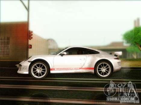 Porsche 911 Carrera S (991) Snowflake 2.0 para GTA San Andreas esquerda vista