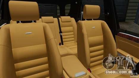 Mercedes-Benz ML63 AMG para GTA 4 vista interior