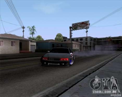 Toyota Chaser jzx100 Drift Police para GTA San Andreas vista direita