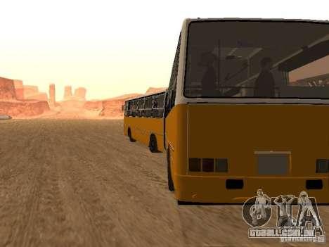IKARUS 280.46 para GTA San Andreas vista traseira