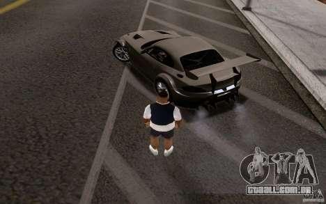 Carros clássicos para venda para fora para GTA San Andreas sétima tela