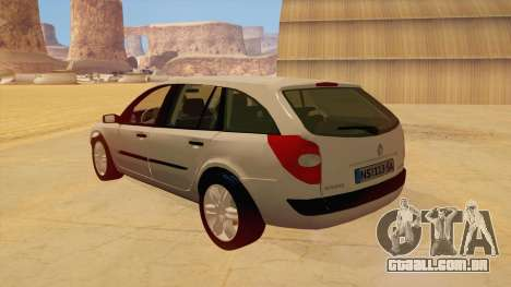 Renault Laguna II para GTA San Andreas