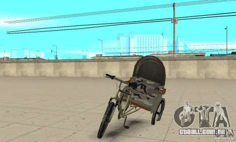 Manual Rickshaw v2 Skin1 para GTA San Andreas
