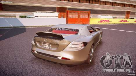 Mercedes Benz SLR McLaren 722s 2005 [EPM] para GTA 4 vista inferior
