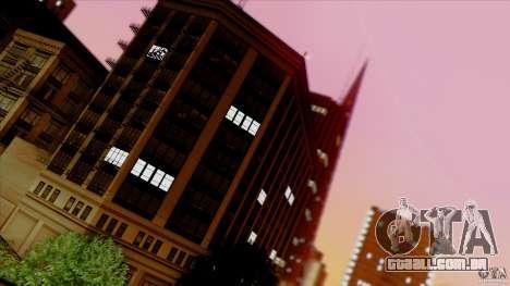 SA Beautiful Realistic Graphics 1.5 para GTA San Andreas décimo tela