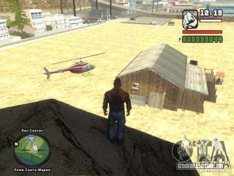 Nova Verona de bar de praia para GTA San Andreas segunda tela
