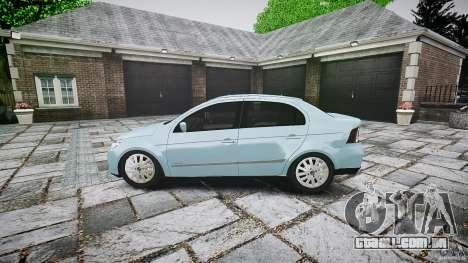 Volkswagen Voyage Comfortline para GTA 4 esquerda vista