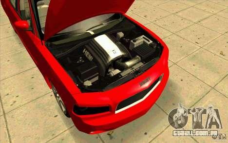 Dodge Charger RT 2010 para GTA San Andreas vista direita