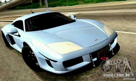 Noble M600 para o motor de GTA San Andreas