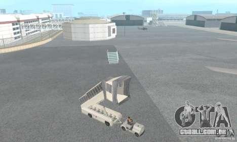 Airport Vehicle para GTA San Andreas sétima tela