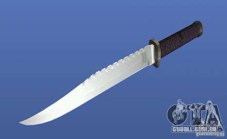 Faca Rambo sem assinatura para GTA 4