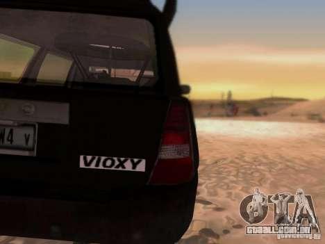 Suv Call Of Duty Modern Warfare 3 para GTA San Andreas vista interior