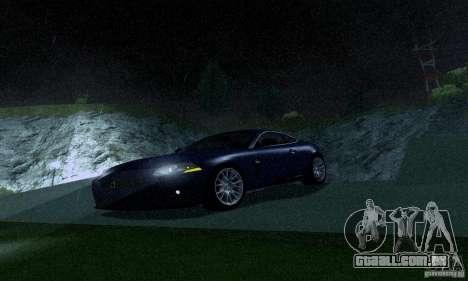 Jaguar XKRS para GTA San Andreas esquerda vista