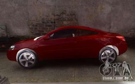 Pontiac G6 para GTA 4 esquerda vista