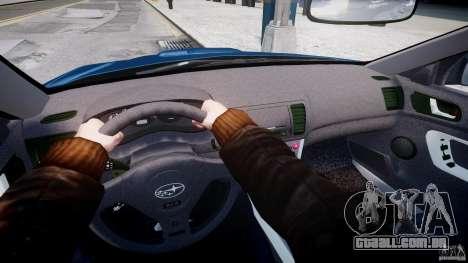 Subaru Legacy B4 GT para GTA 4 vista inferior