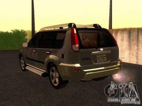 Nissan X-Trail para GTA San Andreas esquerda vista