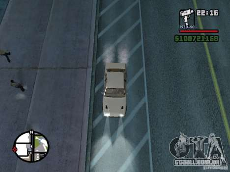 Maserati Ghibli para GTA San Andreas vista direita