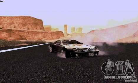 Mercedes-Benz SL65 para GTA San Andreas vista traseira