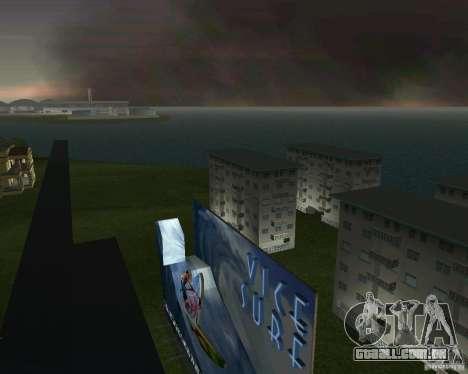 Volta para o futuro de Hill Valley para GTA Vice City por diante tela