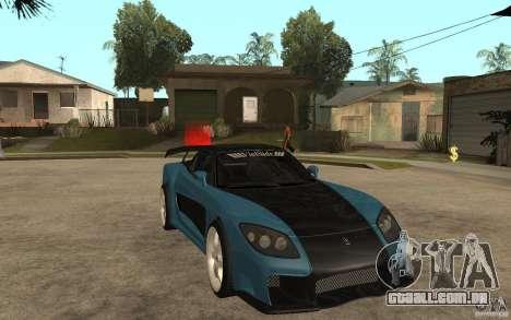 Mazda RX 7 VeilSide para GTA San Andreas traseira esquerda vista
