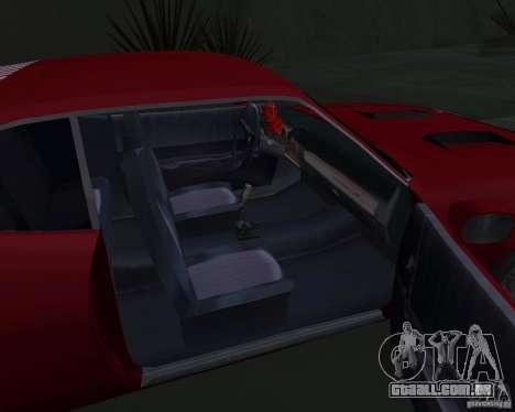 Plymouth Roadrunner para vista lateral GTA San Andreas