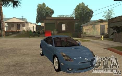 Toyota Celica SS2 para GTA San Andreas vista traseira