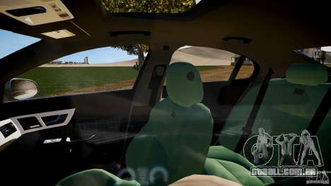 Jaguar XFR 2010 para GTA 4 vista interior