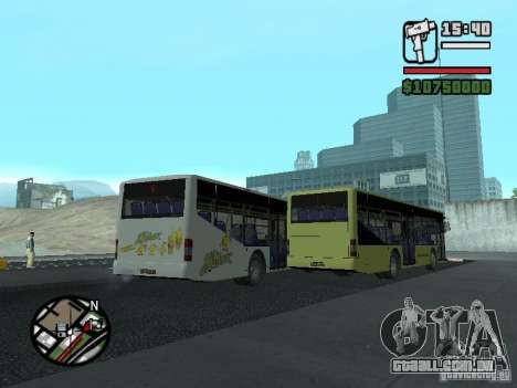 LAZ InterLAZ 12 para GTA San Andreas vista interior