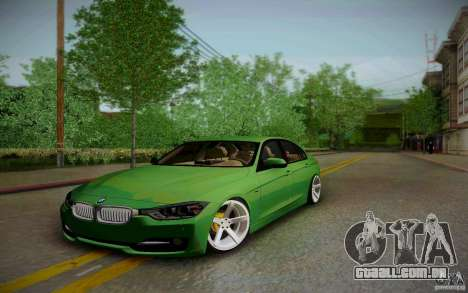 BMW 3 Series F30 Stanced 2012 para GTA San Andreas