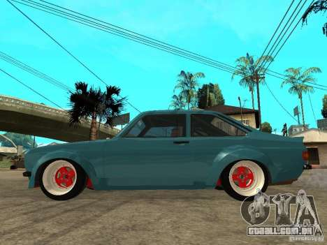 Ford Escort Mk2 para GTA San Andreas